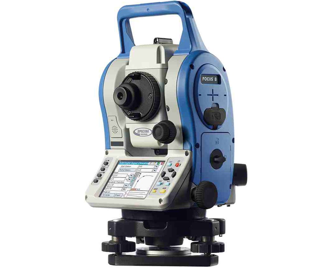 Spectra Focus 8 2″ Total Station